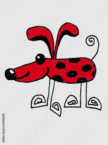 Cartoon animals and Dog Cartoon in Jaidee Family Style