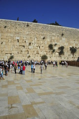 The Western Wall (Wailing Wall) in Jerusalem