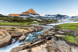 Beautiful nature at Logan Pass, Glacier National Park, MT poster