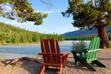 Fototapety beautiful view in canada
