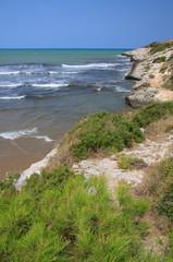 spiaggia di Calalunga a Peschici (Gargano)
