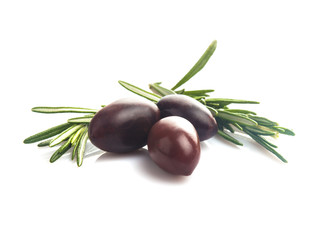 Olives isolated