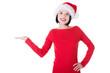 Santa Girl presenting your product
