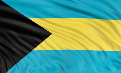 3D Bahama flag