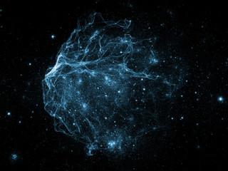 Accidental Fractal Nebulae