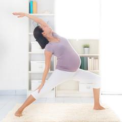 Maternal yoga.