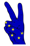 Peace Sign of Alaska flag