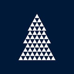 Christmas vector background. Design art elements
