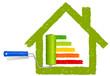 Haus Energie Farbrolle