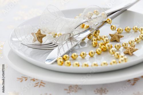 goldenes Gedeck - 56471338