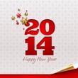 New 2014 year - holidays vector design