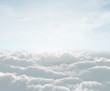 canvas print picture - high definition skyscape with clouds