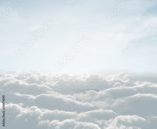 canvas print picture high definition skyscape with clouds