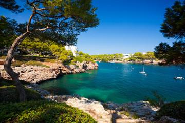 Cala d'Or bay, Majorca island, Spain