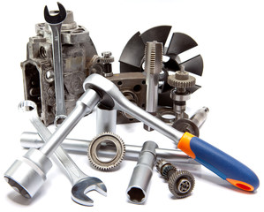 the part of car high pressure pump and the tool for repair