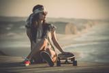 Fototapety Skater Girl