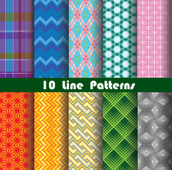 line pattern collection 1 for making seamless wallpapers