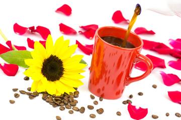 Kaffeetasse eingiessen 3