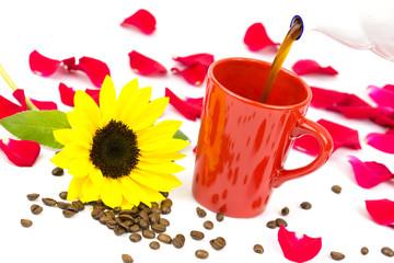 Kaffeetasse eingiessen 4