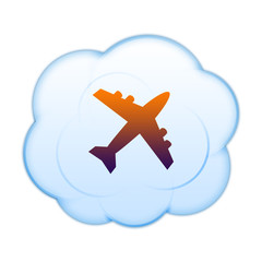 Icon on the clouds