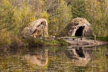 Stone Age hut