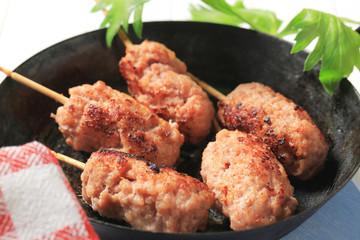 Minced meat kebabs
