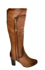 Brown autumn  woman's boots
