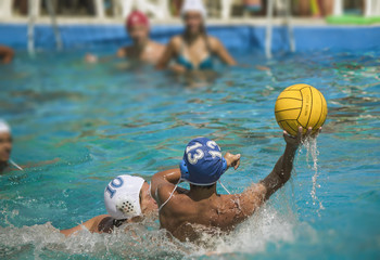 partita di palla a nuoto;shoot;water polo