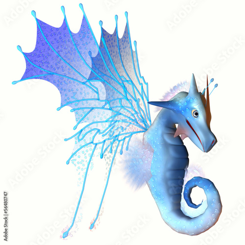 Blue Faerie Dragon