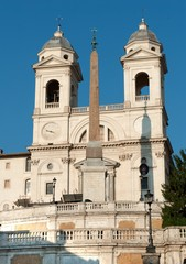 church of the Santissima Trinità dei Monti