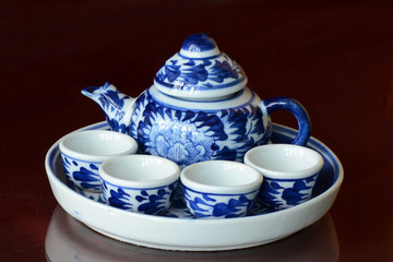Chinese Hot Tea Set.