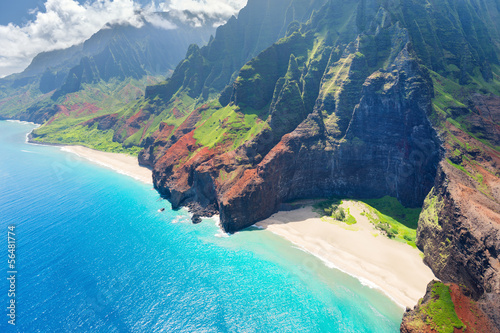 Foto op Canvas Kust Na Pali Coast on Kauai island