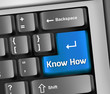 "Keyboard Illustration ""Know How"""