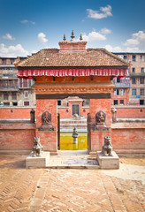 Tekha Pukhu is the historical pond within the Bhaktapur, Nepal.