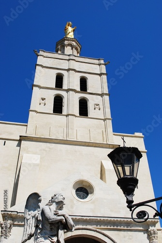 Notre Dame church in Avignon, Provence, France