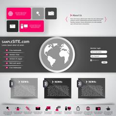 Modern Business Website template