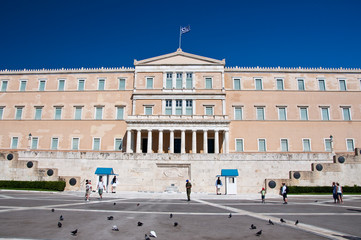 Syntagma Square and Evzones