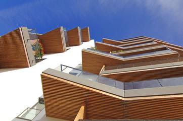 logements neufs dans résidence moderne