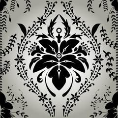 Seamless wallpaper background floral vintage