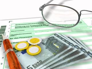 Formular Steuererklärung