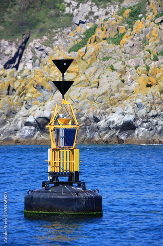 Channel marker buoy