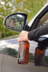 Drunk woman driver