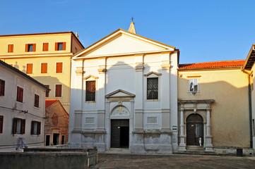 Piran, Pirano, Slovenia - Chiesa di San Francesco