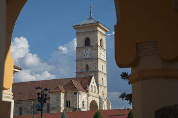 Roman Catholic Church under the arch, Alba Iulia