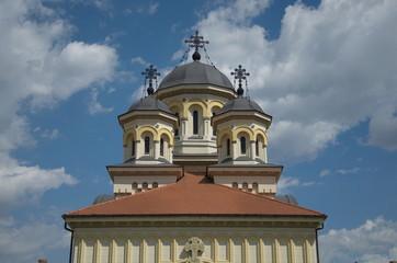 Orthodox cathedral, Alba Iulia, Transylvania