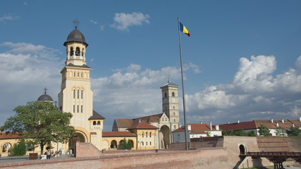 Churches of the medieval citadel of Alba Iulia, Transylvania
