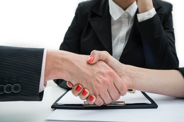 Deal, business handshake