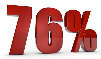 percent,76