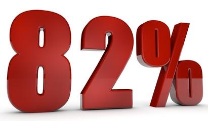 percent,82