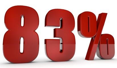 percent,83